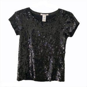 alice + olivia sequin t-shirt